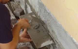 ristrutturazione pareti contro l'umidità