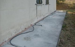 Impianto contro umidità